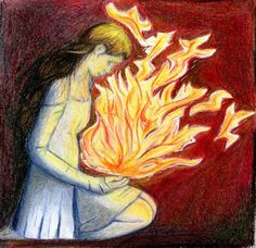 No fire can heat up my soul by cchersin on DeviantArt