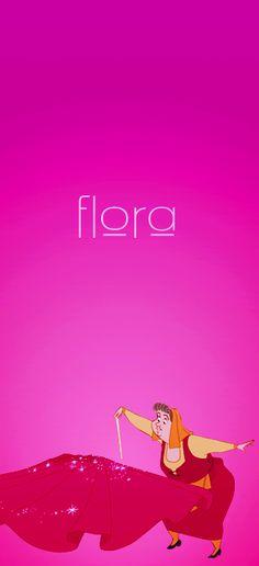 """Flora from """"Sleeping Beauty"""", 1959 Walt Disney, Disney Girls, Disney Love, Disney Magic, Disney Stuff, Sleeping Beauty 1959, Sleeping Beauty Maleficent, Disney Sleeping Beauty, Disney Princess Names"""