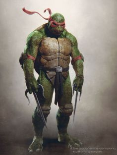 Concept art de Raphael en Teenage Mutant Ninja Turtles (2014)