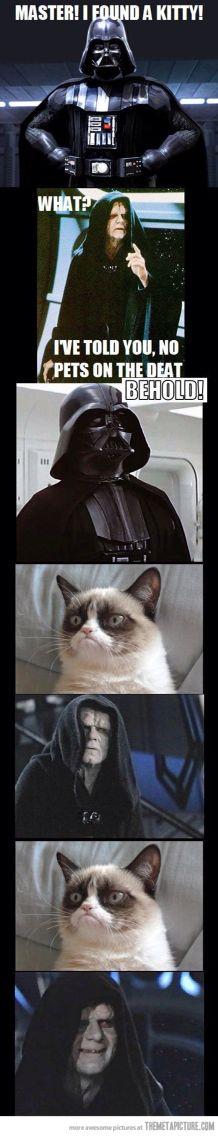 Star Wars grumpy