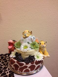Lion King Diaper Cake Lion King Baby Shower, Lion King Cakes, Diaper Cakes, Baby Shower Cakes, Babies, Gift Ideas, Touch, Desserts, Gifts