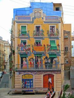 murs, façade et trompe l'oeil - Bing Images