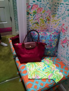 Longchamp and Lilly Pulitzer #lillypulitzer #longchamp