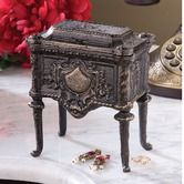 Found it at Wayfair - French Empire Authentic Foundry Cast Iron Box