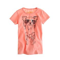 For my doggie obsessed fashionistas.  Girls' doodle doggie tee