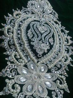 Image result for Broderie de paillettes et de perles