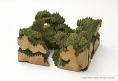 Landscapes Carved Into Wood by Keisuke Tanaka | Spoon & Tamago