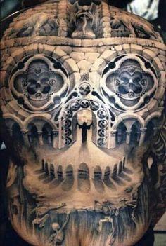 Skull / church