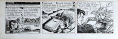 Catawiki online auction house: Frank Robbins - Original Comic Strip - Johnny Hazard - (1970)