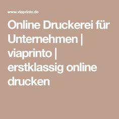 Online Druckerei für Unternehmen | viaprinto | erstklassig online drucken