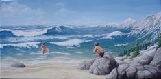 Rob Gonsalves-Aquatic Mountaineering-Marcus Ashley Gallery
