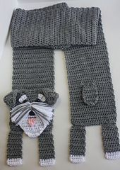 Ravelry: Schnauzer Scarf pattern by Shelley Brown