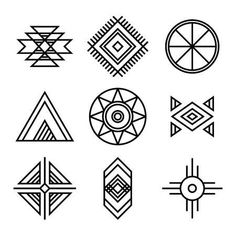 Similar Images, Stock Photos & Vectors of Native American Indians Tribal Symbols Set. Geometric icons isolated on white - 345894719 - MOTİF - Vergelijkbare afbeeldingen, stockfoto's en vectoren van Native American Indians Tribal Symbols Se - Native Symbols, Indian Symbols, Tribal Symbols, Native Art, Tribal Art, Mayan Symbols, Viking Symbols, Egyptian Symbols, Viking Runes