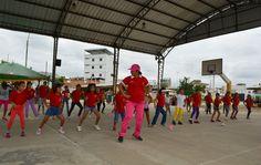 Vacacionales 2015 con Alexandra Amaya danza artística. Alcalde Arq. César Encalada Erráez promueve arte y cultura en la niñez de Pasaje de las Nieves.