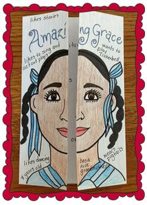 Describe book characters or historical figures using a creative face foldable. (Free printable template included!) Fun Activities, Reading Activities, Reading Skills, Teaching Reading, Get To Know You Activities, Reading Strategies, Reading Response, Teaching Art, Reading Groups