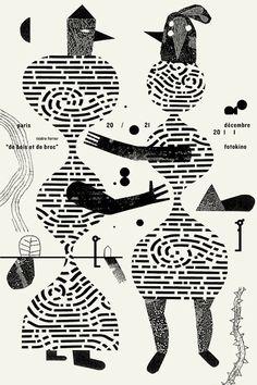 De bois et de broc : Isidro Ferrer