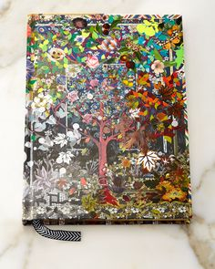 Les 4 Saisons Hardbound Journal, Multi Colors - Christian Lacroix