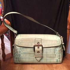 "Dooney & Bourke handbag Leather bag. This one has very light wear. Amazing bag. Inside is clean. 11""across 7""tall, 4.5""deep Dooney & Bourke Bags Shoulder Bags"