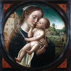 Virgen con el Niño, de Adrian Isenbrandt, en el Museo Machado de Castro de Coimbra