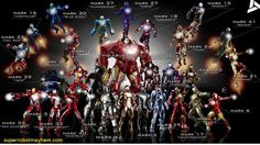 All the Hot Toys Iron Man armors in one picture | Image