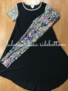 Gorgeous LuLaRoe leggings paired with a carly