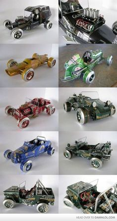 old beer cars
