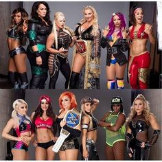 Survivor Series.... Team Raw❤️     Team SmackDown