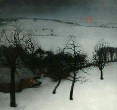 Valerius De Saedeleer - Paysage d'hiver,1931