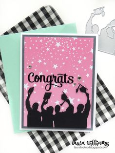 How to Make Three Different Graduation Cards with the Same Dies Graduation Cards Handmade, Graduation Crafts, Handmade Birthday Cards, Graduation Ideas, Kids Cards, Cards Diy, Baby Cards, Handmade Card Making, Cricut Cards