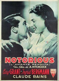 Notorious Poster Movie Italian K 11 x 17 In - 28cm x 44cm Cary Grant Ingrid Bergman Claude Rains Louis Calhern Leopoldine Konstantin Reinhold Schunzel by Pop Culture Graphics, http://www.amazon.co.uk/dp/B003T1RMEE/ref=cm_sw_r_pi_dp_eBtirb1B2T8Z8