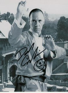David Carradine as Kwai Chang Caine in Kung Fu TV serie