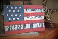 distressed wooden american flag barn board sign rustic country decor, crafts, pallet, patriotic decor ideas, seasonal holiday decor