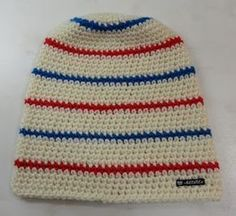 everyone needs a beanie Crochet Beanie Hat, Scarf Hat, Crochet Cardigan, Knit Or Crochet, Crochet Hooks, Free Crochet, Knitted Hats, Baby Barn, Textiles
