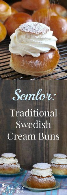Semlor: Traditional Swedish Cream Buns