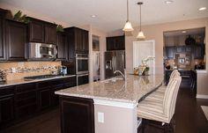 E6270bae0066b59e5503235e833ad Dark Kitchen Cabinets Pulte Homes Jpg 736