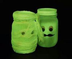 Glow in the dark mummy