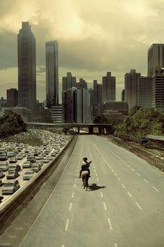"Rick Rides into Atlanta | TWD S1E1 ""Days Gone Bye"": This is the intersection where Rick's entry into Atlanta on horseback was filmed....Freedom Parkway | Good view: 210 Jackson St NE Atlanta, GA 30312"