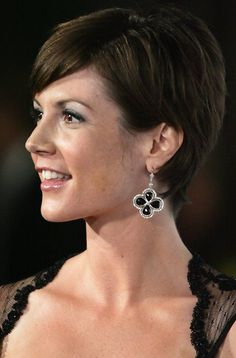Zoe McLellan Photos - Zoe McLellan attends the closing ceremony of the Monte-Carlo Television Festival on June in Monaco. - Zoe McLellan Photos - 1 of 108 Curly Pixie Hairstyles, Latest Short Hairstyles, Short Pixie Haircuts, Cool Haircuts, Medium Hairstyles, Wedding Hairstyles, Blonde Pixie, Short Blonde, Zoe Mclellan