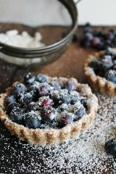 This Rawsome Vegan Life: blueberry tarts for two