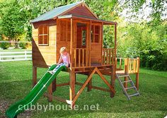 Eagles Nest cubby house, australian-made, outdoor playground equipment, diy cubby house kits, cubby houses