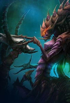 #HOS : ZAGARA (BROODMOTHER OF THE SWARM) Heroes Of The Storm, Starcraft, World Of Warcraft, Video Games, Sci Fi, Fictional Characters, Videogames, Science Fiction, Video Game