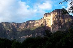 El salto del angel, Parque nacional Canaima, Venezuela