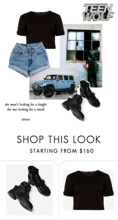 """""""Use Your Imagination: TV Shows Sets: Teen Wolf, Stiles Stilinski"""" by hermoinegranger ❤ liked on Polyvore featuring Wrangler and Ted Baker"""
