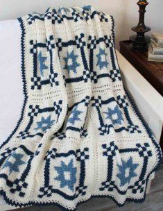 ... Crocheted Quilts on Pinterest Afghan patterns, Crochet quilt and