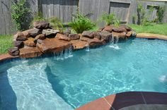 This small pool and spa can fit just a little tight in my backyard but hopefully one day!