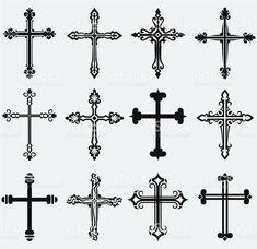 Religiöse Kreuz Lizenzfreies vektor illustration