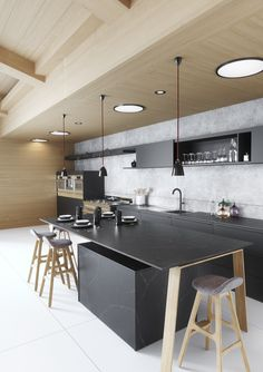 Lets talk about our top 10 favorite Silestone Countertops Colors of the year! Silestone quartz is top of the line and a leader in quartz products. Black Kitchens, Luxury Kitchens, Cool Kitchens, Modern Kitchens, Silestone Countertops, Kitchen Countertops, Kitchen Cabinets, Kitchen Dining, Kitchen Decor
