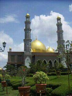 Gold Mosque Bogor West Java Indonesia