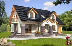 Proiect de casa cu lucarne - un plus de personalitate