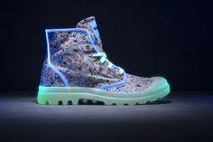 Afraid of the dark? No worries, because Palladium's new boots will illuminate your night